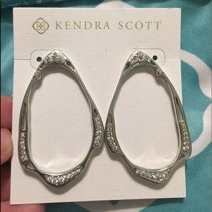 Kendra Scott Livi stud earring in silver